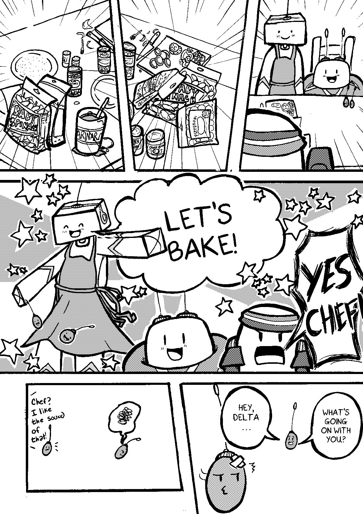 Chef Headbread!