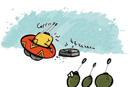 Art Break- Pear's new…friend?